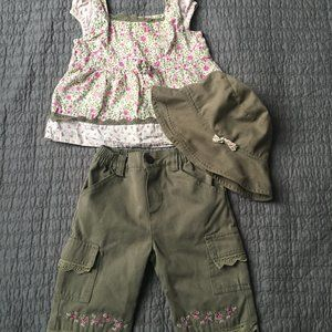 Nanette 3 piece outfit 12 months